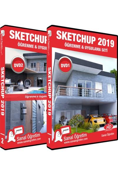 Sanal Öğretim Sketchup 2019 Video Eğitim Seti