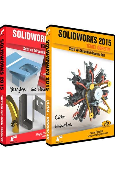 Sanal Öğretim Solidworks 2015 Temel Eğitim Sac Levha Profiller Yüzeyler Video Eğitim Seti