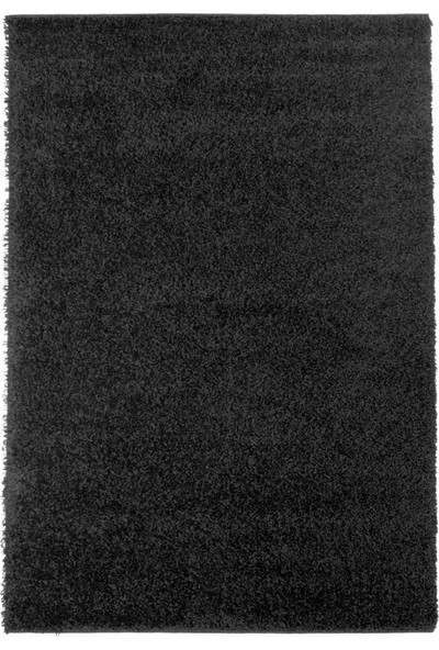 Vinosa Home Shaggy Siyah Renk Halı 100 x 200 cm