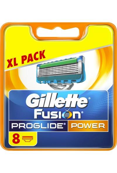 Gillette Fusion ProGlide Power 8'li Yedek Tıraş Bıçağı Karton Paket