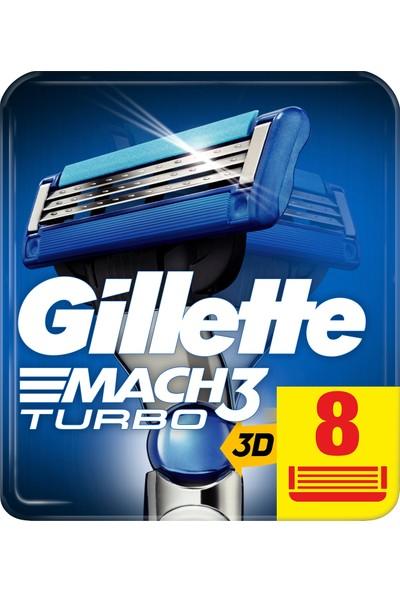Gillette Mach3 8'li Yedek Tıraş Bıçağı