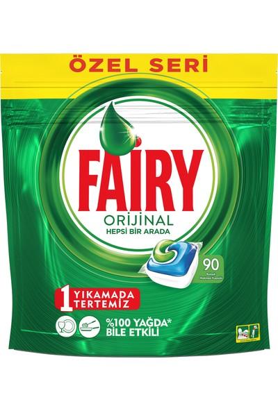 Fairy Hepsi Bir Arada 90 Yıkama Bulaşık Makinesi Deterjanı Kapsülü Özel Seri