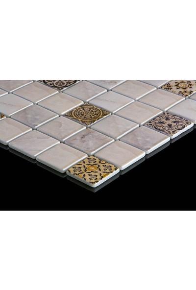 Mossaıca Dijital Baskılı Mozaik FBLDJ008