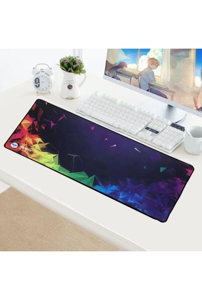 Appa Gökkuşağı Oyuncu Mouse Pad 70x30cm