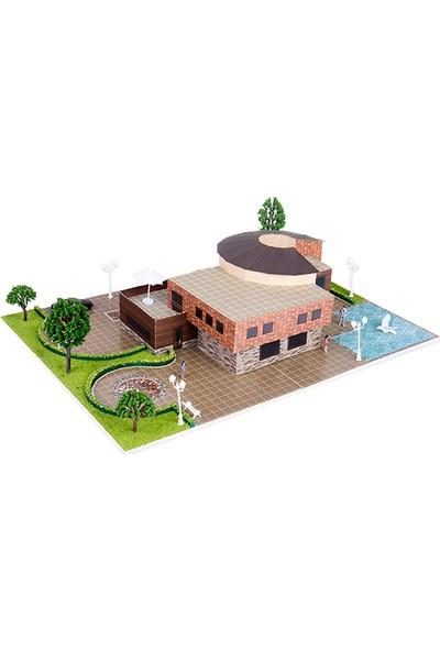 Eshel Üç Boyutlu Modern Villa Puzzle