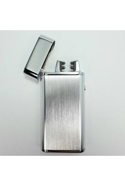 Silvio Monetti Sm 041-M USB Şarjlı Elektronik Elektrikli Çakmak