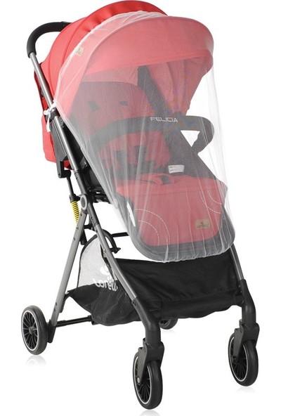 Lorelli Felicia Spor Alüminyum Bebek Arabası - Red