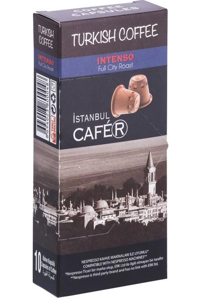 İstanbul Cafer Nespresso Uyumlu Türk Kahvesi 10 Adet