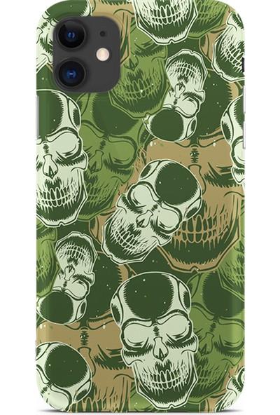 Kılıfland Apple iPhone 11 Kılıf Silikon Resimli Kapak Skeleton Skulls -Stok 7