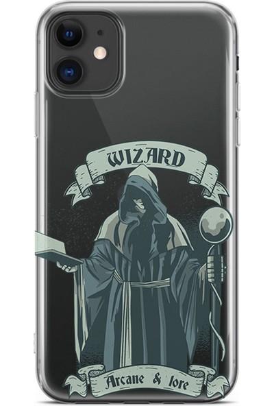 Kılıfland Apple iPhone 11 Kılıf Silikon Resimli Kapak Wizard -Stok 119