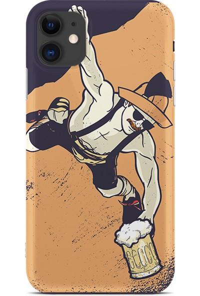 Kılıfland Apple iPhone 11 Kılıf Silikon Resimli Kapak Man Of The Milkshake -Stok 133