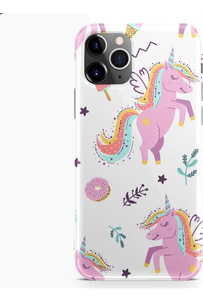 Kılıfland Apple iPhone 11 Pro Kılıf Silikon Resimli Kapak Pasta Unicorn -Stok 1139