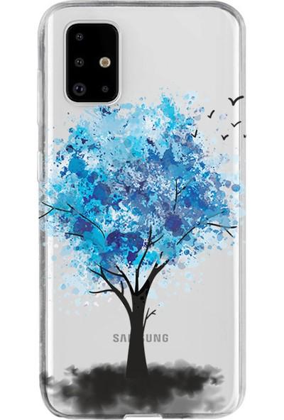 Kılıfland Samsung Galaxy A51 Kılıf A515F Silikon Resimli Kapak Dream Tree -Stok 623