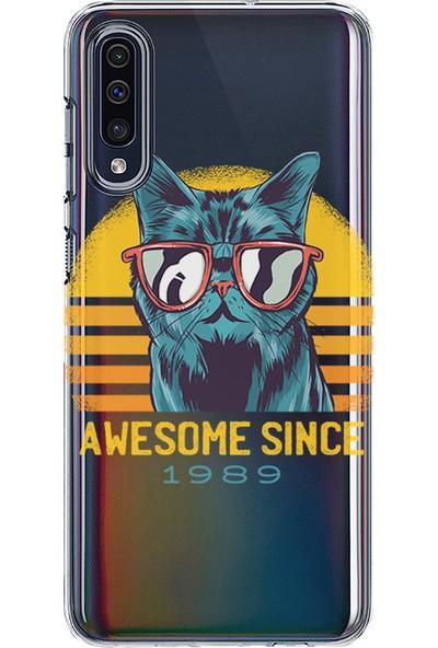 Kılıfland Samsung Galaxy A70 Kılıf A705F Silikon Resimli Kapak Awesome Since -Stok 1207