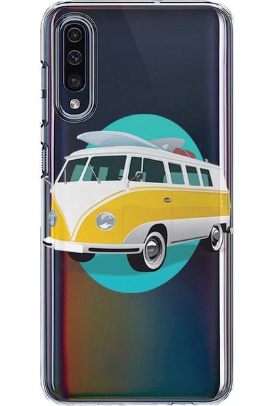 Kılıfland Samsung Galaxy A30S Kılıf A307F Silikon Resimli Kapak Summer -Stok 725