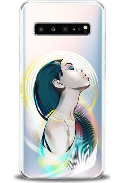 Kılıfland Samsung Galaxy S10 Plus Kılıf G975F Silikon Resimli Kapak Girlz -Stok 936