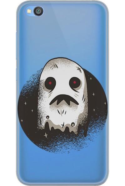 Kılıfland Xiaomi Redmi Go Kılıf Silikon Resimli Kapak Dark Ghost -Stok 382