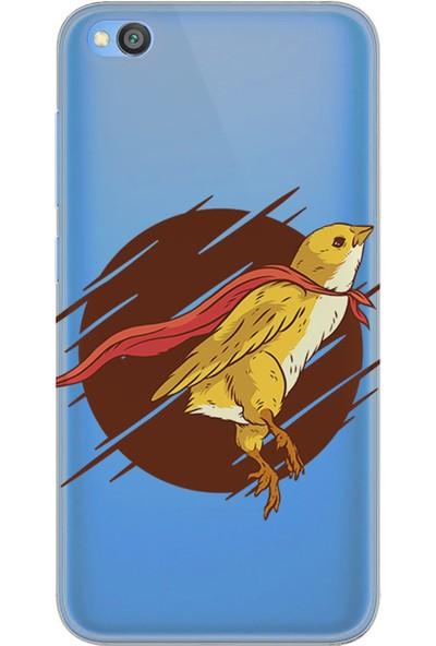 Kılıfland Xiaomi Redmi Go Kılıf Silikon Resimli Kapak Super Bird -Stok 728