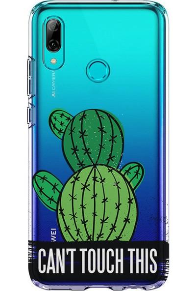 Kılıfland Huawei P20 Lite Kılıf Silikon Desenli Resimli Lüx Kapak Can't Touch This -Stok 321