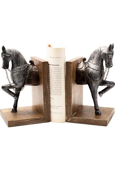 Gift Garden At Figürlü Dekoratif Biblo Kitap Tutucu