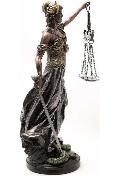 Gift Garden Büüyük Boy Themis Adalet Heykeli
