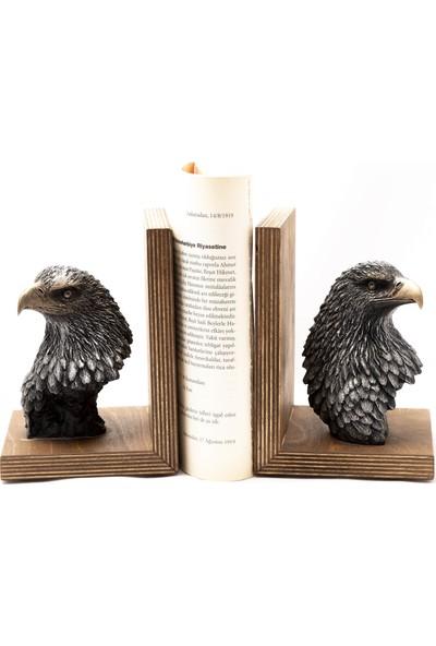 Gift Garden Kartal Başlı Biblo Kitap Tutucu