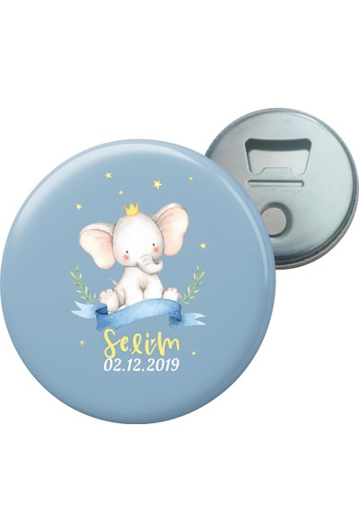 Grafilli Design 010 Hoşgeldin Bebek Magnet Açacak - 10 Adet