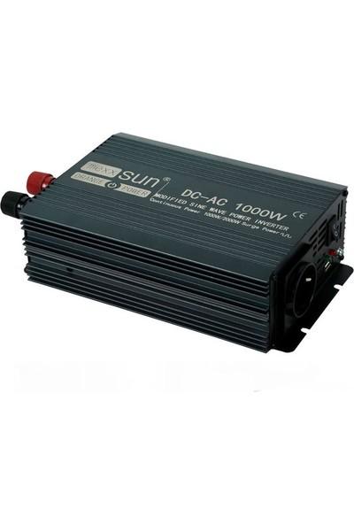 İsos Modifiye Sinüs Inverter 24 V 1000 W