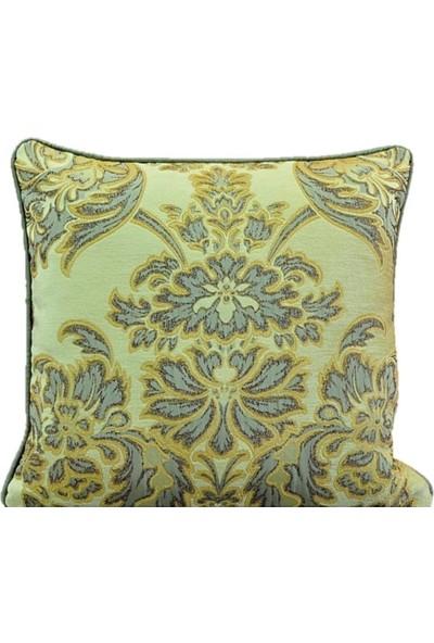 Ata Exclusive Fabrics Benjamin Serisi Damask Desenli Dekoratif Kırlent