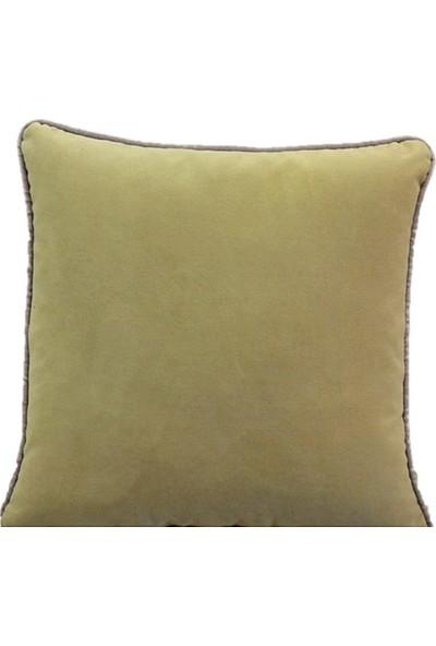 Ata Exclusive Fabrics Albatros Serisi Düz Kadife Dekoratif Kırlent