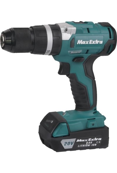 Max Extra MXP2940 Kömürsüz Akülü Matkap 20V