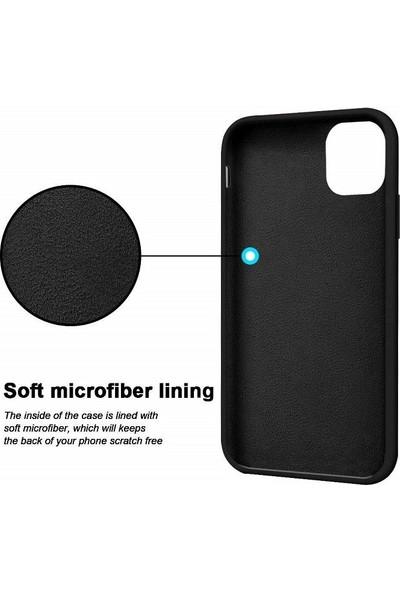 Engo Apple iPhone 11 Liquid Silikon Lansman Kılıf - Siyah