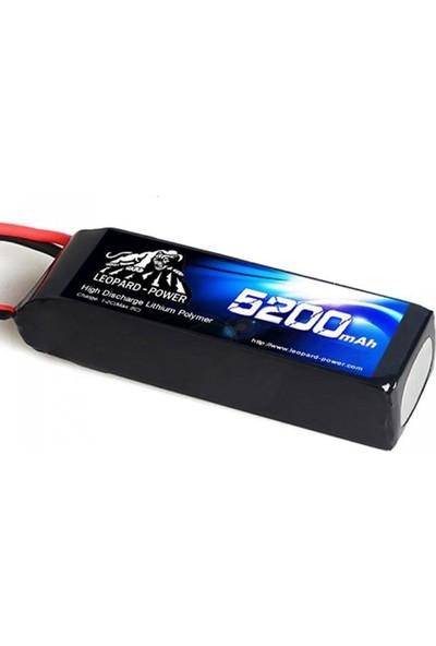 Leopard Power 5200 Mah 7,4V 2s 30C Lipo Batarya