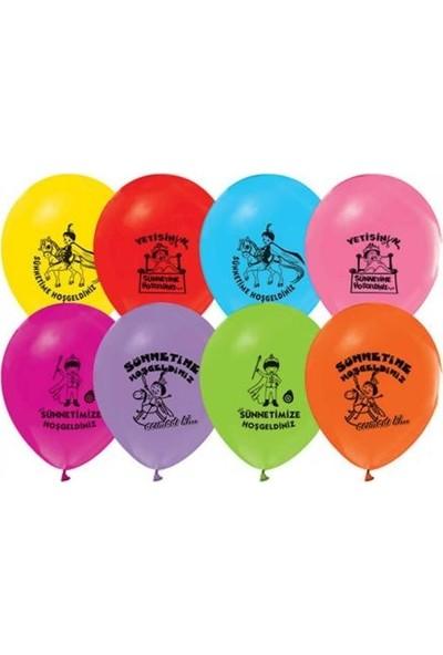 Acar Süs Sünnet Serisi Balon 12 Inch 30 Adet