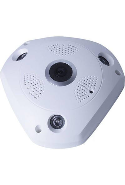 Angeleye KS-607 Panoramik Balık Gözü 360 Derece Hd Tavan Tipi Kablosuz Ip Kamera