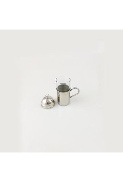 Gaziantepten Bakır Kahve Yanı Su Bardağı