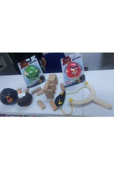 Angry Birds Figürler - Dev Sapanlı Fırlatma Oyun Seti Seri 1