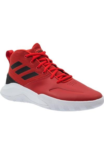 Adidas Ownthegame Erkek Kırmızı Spor Ayakkabı (Ee9635)