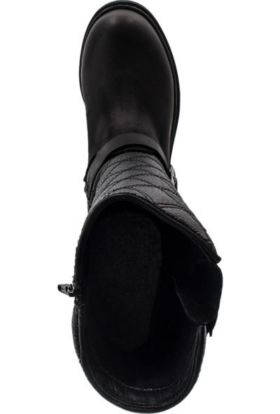 Hammer Jack Kadın Siyah Çizme