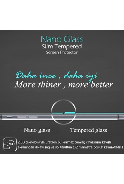 Tekno Grup Huawei Y6 2018 Nano Glass Ekran Koruyucu