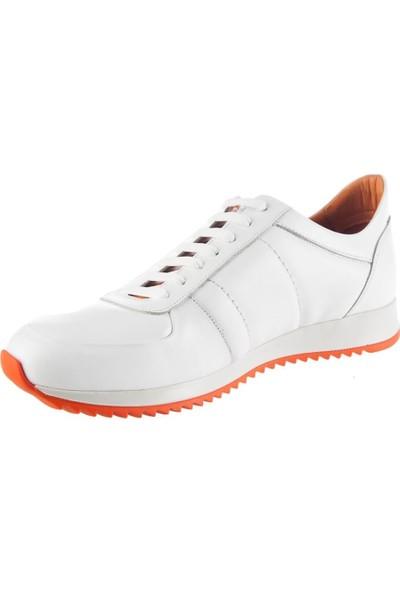 Tetri Beyaz Deri Ayakkabı 41