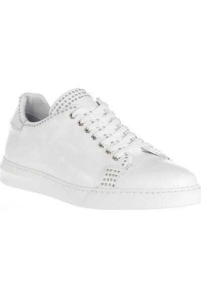 Tetri Beyaz Deri Ayakkabı 40