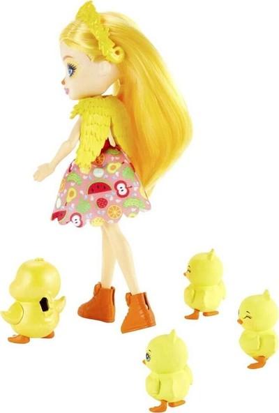 Enchantimals Aile Serileri Oyun Seti Dinah Duck GJX43 - GJX45
