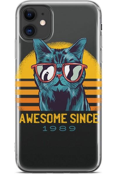 Kılıfland Apple iPhone 11 Kılıf Silikon Resimli Kapak Awesome Since - 1207