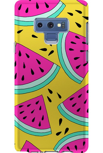 Kılıfland Samsung Galaxy Note 9 Kılıf N960F Silikon Resimli Kapak Melons - 1