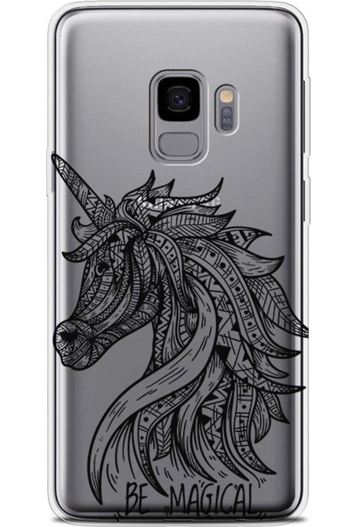 Kılıfland Samsung Galaxy S9 Kılıf G960 Silikon Resimli Kapak Be Magical - 762