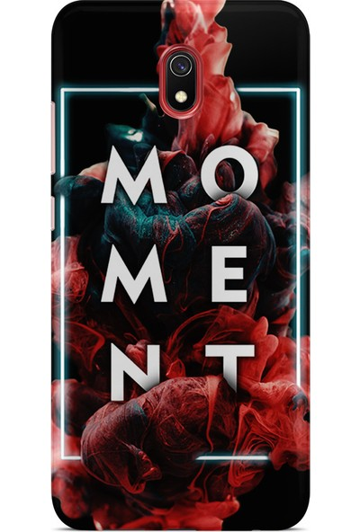 Kılıfland Xiaomi Redmi 8A Kılıf Silikon Resimli Kapak Moment - 1132