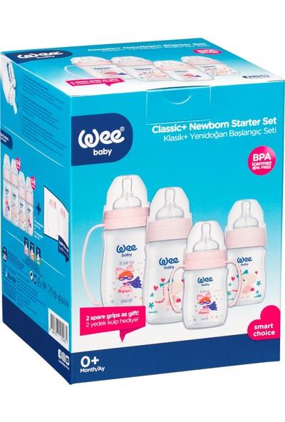 Wee Baby Klasik Plus Yeni Doğan Başlagıç Seti Pembe