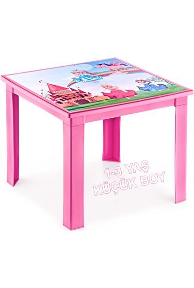 Banadabul Fiore Prenses Resimli Pembe Çocuk Masası 1-3 Yaş İçin