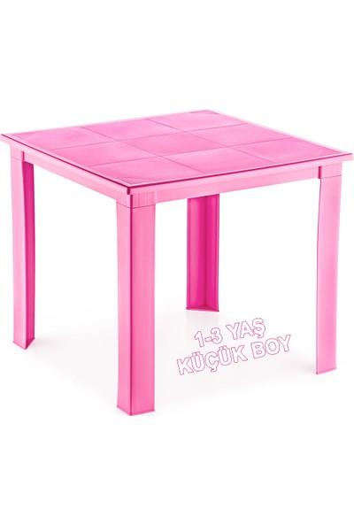 Banadabul Çocuk Masası Plastik Pembe H40 1-3 Yaş